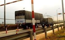 Trạm kiểm tra tải trọng xe Dầu Giây dừng hoạt động từ 1-9