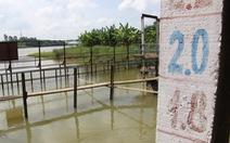 Bão mang mưa 'giải nguy', Đà Nẵng chưa vội đắp đập