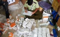 Phát hiện điểm chứa thuốc tân dược nhập lậu trị giá hàng tỉ đồng tại TP.HCM