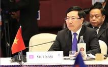 Việt Nam rất 'thẳng thắn và chân thành' về chuyện Biển Đông ở AMM-52
