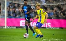 Video những pha chạm bóng của Công Phượng trong trận gặp Club Brugge