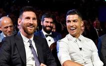 Ronaldo hy vọng sẽ ăn tối cùng Messi trong tương lai