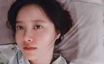Trong tâm bão ly hôn chồng trẻ, Goo Hye Sun nhập viện cắt khối u lành tính