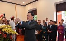 Lãnh đạo TP.HCM tưởng niệm Chủ tịch Hồ Chí Minh và Chủ tịch Tôn Đức Thắng