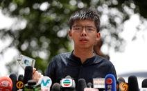 Hoàng Chi Phong lại bị bắt