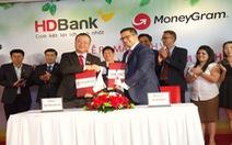 MoneyGram ra mắt dịch vụ chi trả kiều hối tại nhà với HDBank