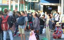 Đường về miền Tây tăng 200%, đi miền Đông vắng vẻ, Tân Sơn Nhất thông thoáng