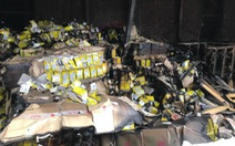 Vụ cháy công ty Rạng Đông: Không khí 'trong ngưỡng an toàn'