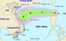 Đêm nay, áp thấp nhiệt đới sẽ vào Biển Đông và mạnh thêm