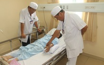 Cứu sống bệnh nhân vừa bị rắn lục đuôi đỏ cắn, vừa đau ruột thừa