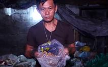 Nhặt thịt thừa ở bãi rác chế biến lại bán cho người nghèo