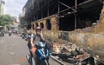 Vụ cháy công ty Rạng Đông: Phường rút khuyến cáo, dân vẫn lo