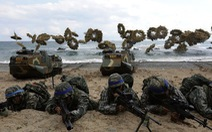 Bất chấp 'tên lửa' Triều Tiên, Hàn - Mỹ vẫn tập trận chung 2 tuần