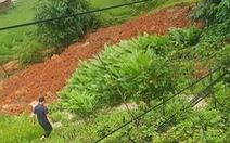 Sạt lở đất ở Sa Pa, một người bị vùi lấp chết