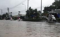Phú Quốc lại mưa lớn, ngập sâu trong sáng 6-8