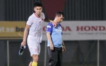 Tiền đạo U22 Việt Nam dính chấn thương sau trận đấu tập