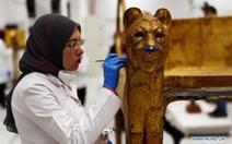 Ai Cập phục chế quan tài mạ vàng của Pharaoh Tutankhamun
