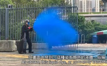 Hong Kong sẽ phun màu lên người biểu tình quá khích