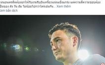 Thủ môn Văn Lâm được Muangthong United ca ngợi là biểu tượng 'chăm chỉ và cầu tiến'