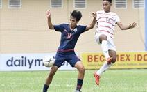 'Địa chấn' đã xảy ra: U18 Thái Lan thua U18 Campuchia!