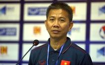 HLV Hoàng Anh Tuấn: 'Nếu giữ được thể lực tốt, tôi nghĩ kết quả sẽ khác'