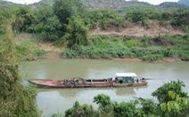 Tạm giữ 14 tàu khai thác cát trái phép trên sông Đồng Nai