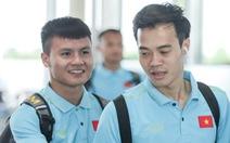 Tuyển thủ Việt Nam tự tin trong ngày sang Thái Lan thi đấu