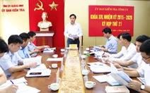 Kỷ luật chưa đúng mức, nhiều cán bộ tại Quảng Ninh bị đề nghị xử lý tiếp