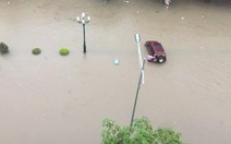 Sập tường rào trong cơn mưa lớn ở Thái Nguyên, 3 người tử vong
