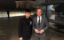 Trung Quốc gay gắt chuyện Ngoại trưởng Đức gặp Hoàng Chi Phong