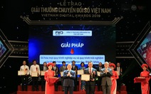 FWD nhận giải thưởng 'Doanh nghiệp chuyển đổi số xuất sắc 2019'
