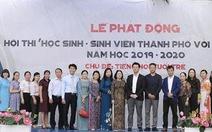 Hội thi 'Học sinh, sinh viên thành phố với pháp luật' năm 2019