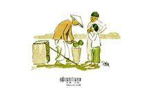 Bất ngờ với gánh hàng rong Hà Nội xưa trong tranh 'họa sĩ triệu đô' Lê Phổ