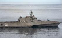 Tàu chiến tàng hình Mỹ mang tên lửa 'có thể làm nghiêng cán cân sức mạnh' trên biển