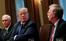 Đuổi xong 'diều hâu', ông Trump đòi gặp tổng thống Iran ngay trên đất Mỹ