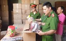 50 tấn bánh kẹo, đồ chơi Trung thu nhãn mác Trung Quốc ghi chữ Thái Lan