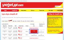 Vietjet: 'Niêm yết giá vé máy bay gộp như Vietnam Airlines là không minh bạch'