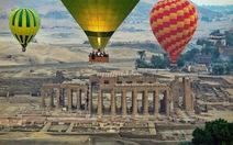Ai Cập nối lại hoạt động du lịch bằng khinh khí cầu