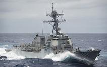 Tàu chiến Mỹ thách thức yêu sách đường cơ sở của Trung Quốc ở Hoàng Sa