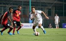 U16 Việt Nam thắng Timor Leste 2-0, khởi đầu thuận lợi ở vòng loại U16 châu Á