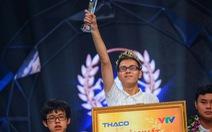 Thế Trung - Nghệ An giành vòng nguyệt quế Đường lên đỉnh Olympia
