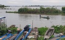 Nước lũ trên sông Tiền đã vượt báo động 1