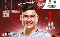 Thủ môn Đặng Văn Lâm vào đội hình tiêu biểu vòng 26 Thai League