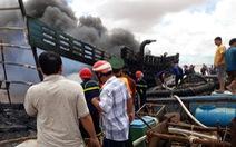 Tàu cá bất ngờ bốc cháy, thiệt hại trên 7 tỉ