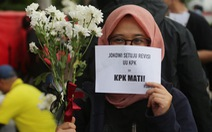 'Tắc kè' chống tham nhũng Indonesia lâm nguy