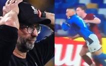 HLV Jurgen Klopp: 'Cầu thủ ngã xuống trước khi va chạm thì không thể có phạt đền'