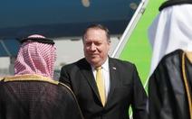 Ngoại trưởng Pompeo bay tới Saudi Arabia bàn kế trả đũa Iran