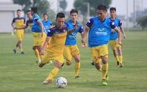 Đội tuyển U22 Việt Nam đá giao hữu với U22 UAE