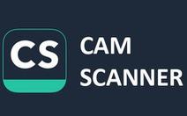 Ứng dụng scan hình ảnh CamScanner trên Android chứa mã độc