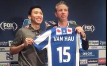 Văn Hậu chính thức ra mắt CLB Heerenveen, hứa cố gắng vì người hâm mộ